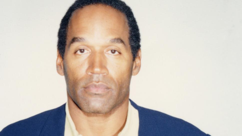 O.J. Simpson poses for his mugshot following his 1994 arrest.