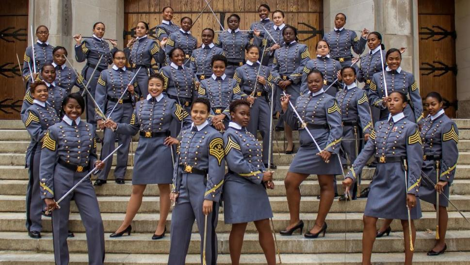 The West Point class of 2019 has 34 African American women.