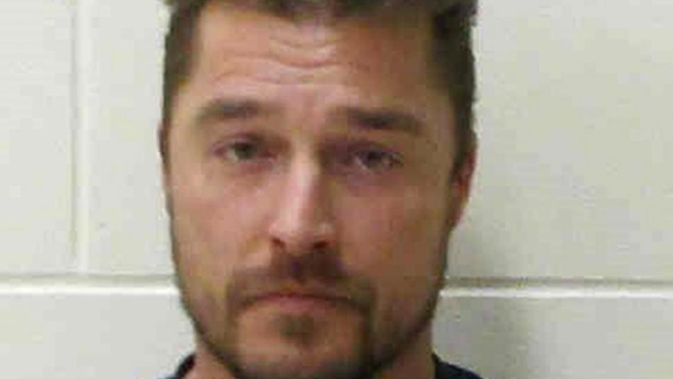 Chris Soules is pictured in a booking photo.