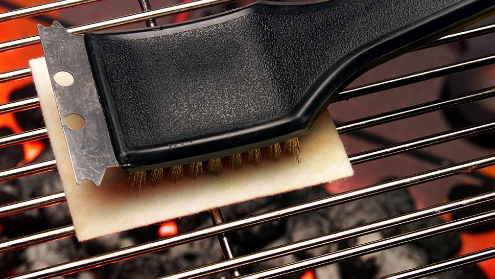 Bristle-based grill brushes can be dangerous, according to a home improvement expert.