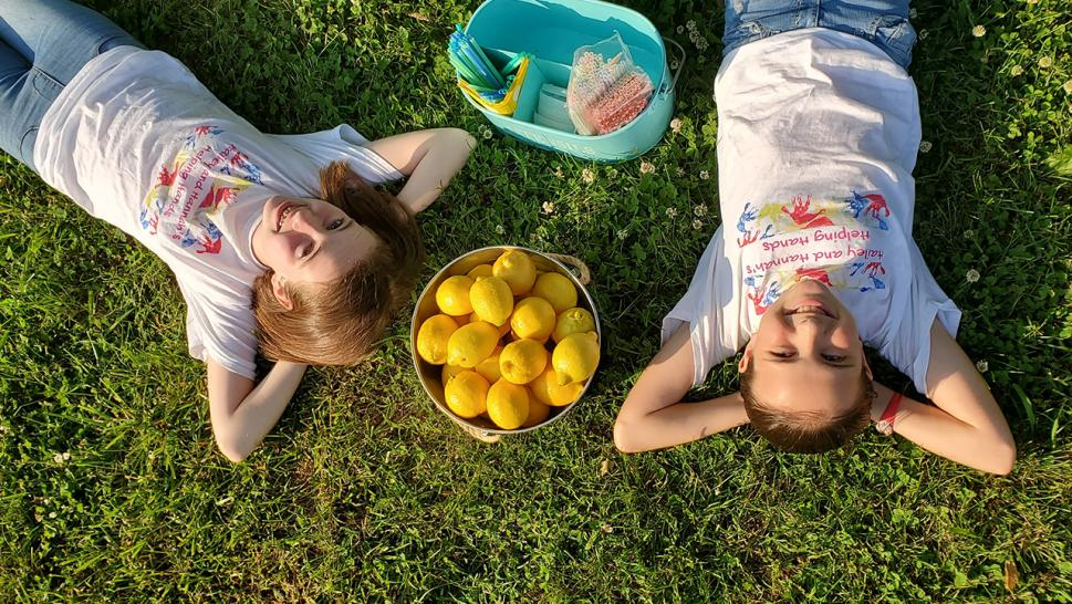 How 2 Sisters Have Used a Lemonade Stand to Raise Thousands to Pay Off Student Lunch Debt