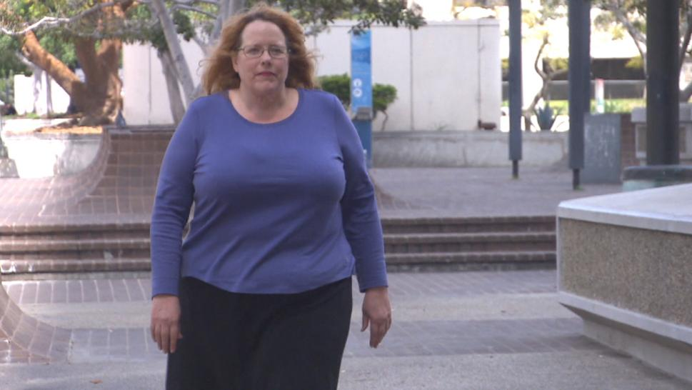 Elizabeth Greenwood is suing the city of Los Angeles after getting typhus.