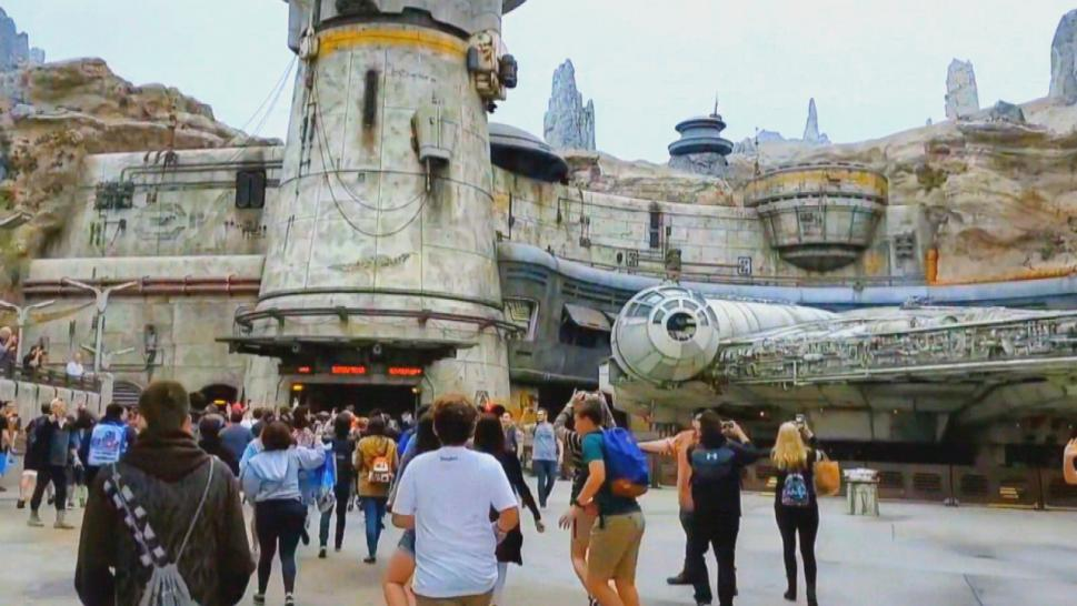 Star Wars amusement park