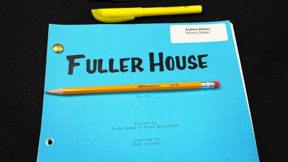 "The cast of ""Fuller House"" had their first table read for their final season, without Lori Loughlin."