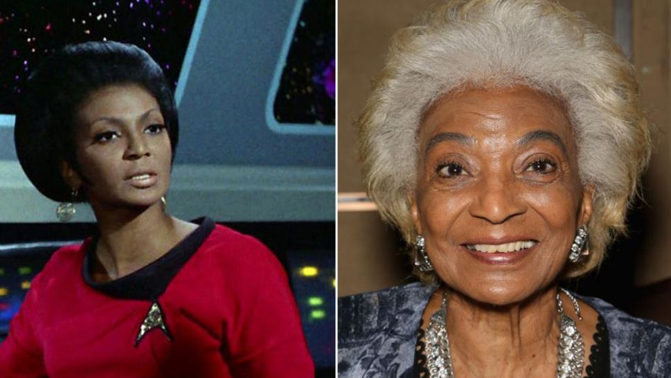 Actress Nichelle Nichols can be heard screaming in recent video.