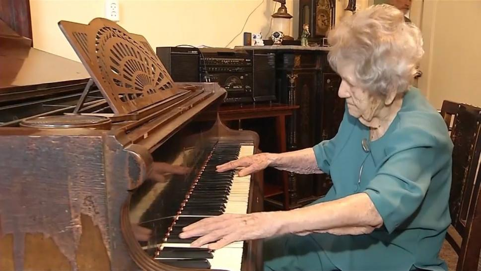 108 year old pianist