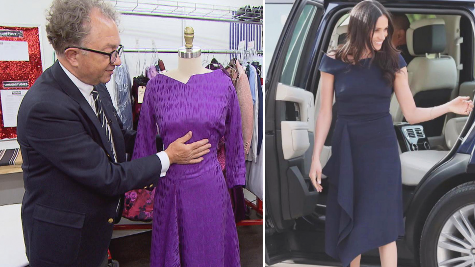 Dress inspired by Meghan Markle