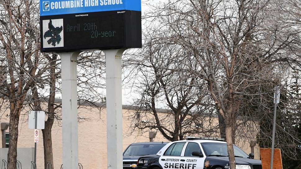 "Columbine High School may soon be razed and rebuilt, as public education officials in Colorado say the building remains a ""source of inspiration"" for potential gun violence, even 20 years on from the mass shooting there that left 13 people dead."