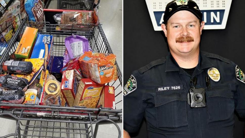 Texas Cop Gives Boy a Ride Home, Then Buys Food for His Family
