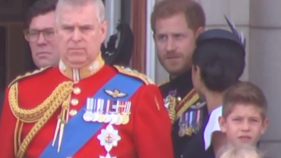Did Prince Harry snap at Meghan Markle at Trooping the Colour?