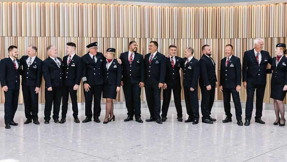 British Airways staffed an entire flight with dads and their kids for Father's Day.