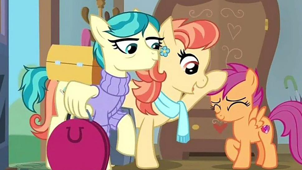 """My Little Pony"" debuted a lesbian couple on Saturday."