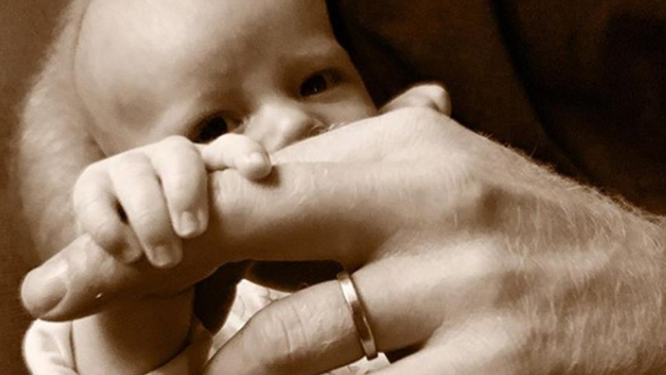 Prince Harry shared a sweet photo of Archie for Father's Day.