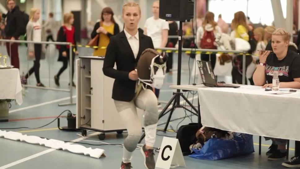 Hobby Horses Championships Ride into Finland