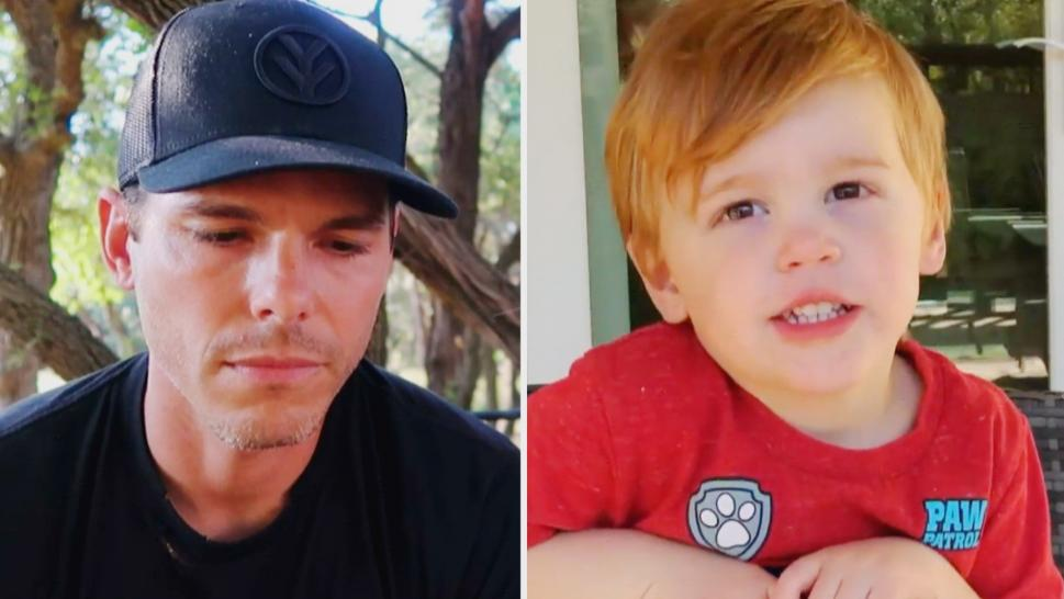 Granger Smith and his son