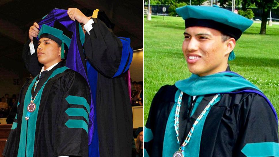 Navajo Student Who Was Homeless and Hungry Throughout College Receives Doctorate Degree