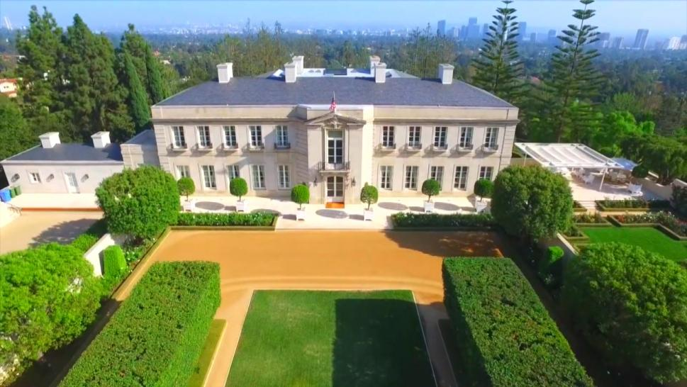 Mansion Featured on 'Beverly Hillbillies'