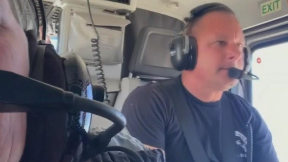 Mark Dilullo took his wife, Lisa Dilullo, out for a test run of their plane when he says the engine suddenly quit working. She filmed his emergency landing.