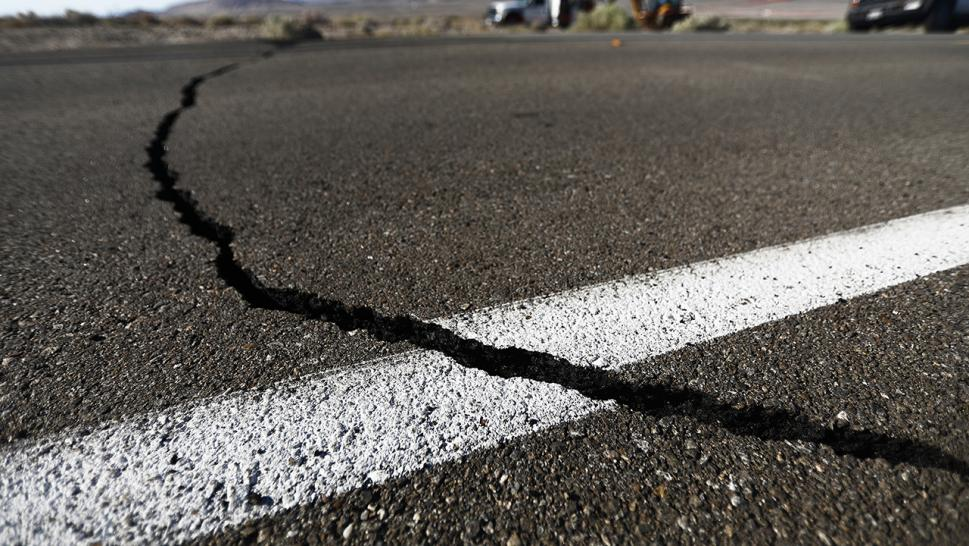 A strong 6.4 magnitude earthquake rattled the Los Angeles area on July 4, 2019, with hundreds of aftershocks following.