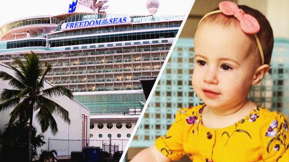 Girl falls from cruise ship