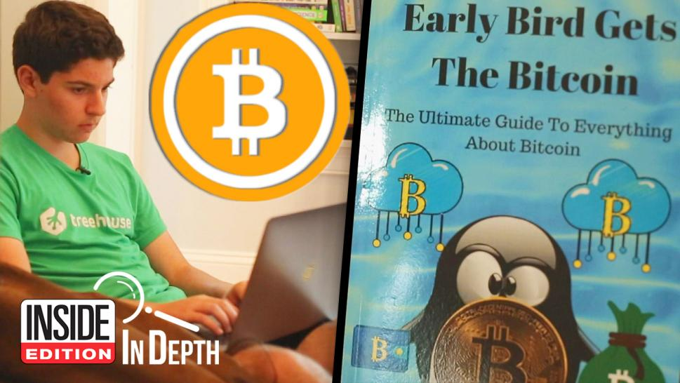 Andrew Courey wrote a book about Bitcoin