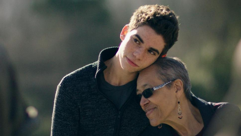 Cameron Boyce and his grandmother, Jo Ann