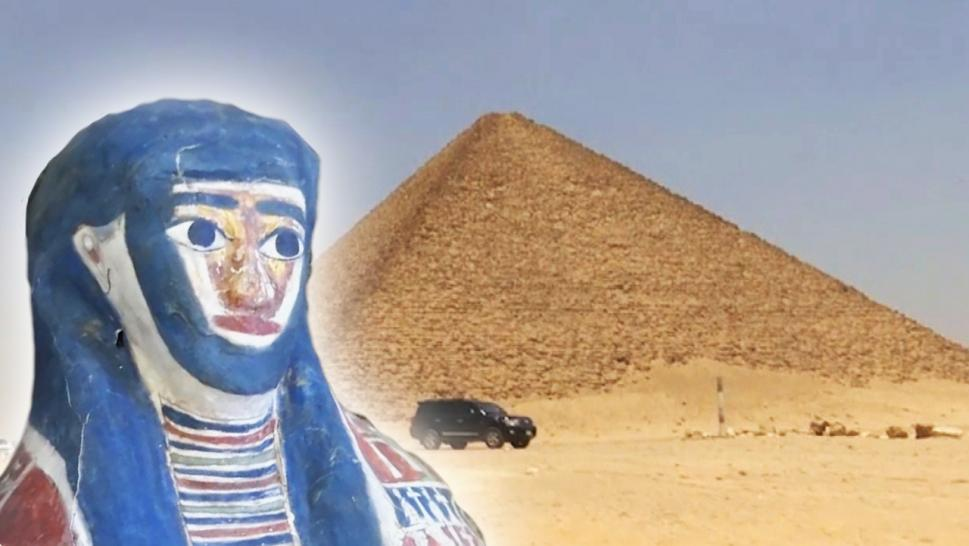 Mummies Discovered Near Ancient Egyptian Pyramids