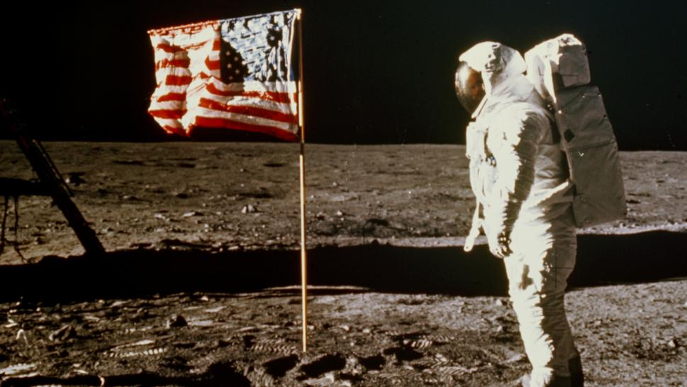 The Apollo 11 mission culminated with Neil Armstrong walking on the moon.