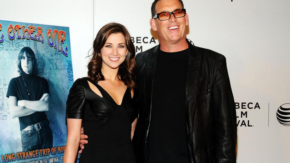 Mike Fleiss and his wife, Laura Kaeppeler, are pictured in 2014.