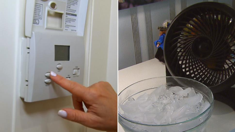 What happens if your air conditioner breaks? Lifestyle expert Erica Katz demonstrated her tricks for beating the heat.