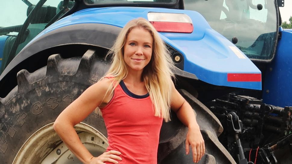 Suzanne Cook started her farm six years ago.
