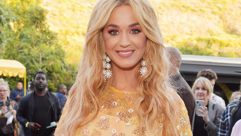 Katy Perry is pictured here at the YouTube Music & Katy Perry Fan Experience in May 2019.