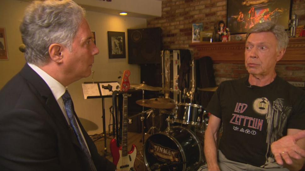 Bill Weir plays bass guitar in the band, and he told Inside Edition that the shooter, 19-year-old Santino Legan, was just 100 feet away.