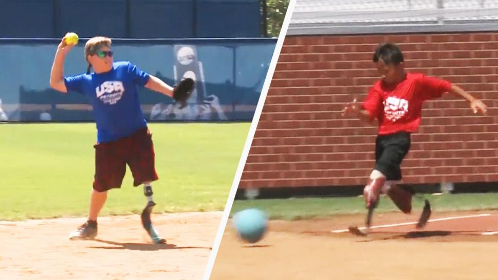 Kids With Limb Differences Play Sports With Wounded Vets