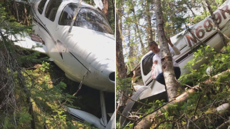 Minnesota mining executive Matt Lehtinen was flying from Newfoundland to Quebec City on July 27 when his Cirrus SR22 encountered engine trouble.