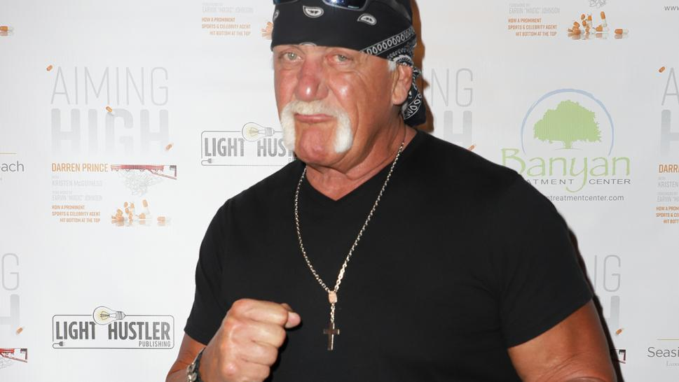 Hulk Hogan is pictured here.