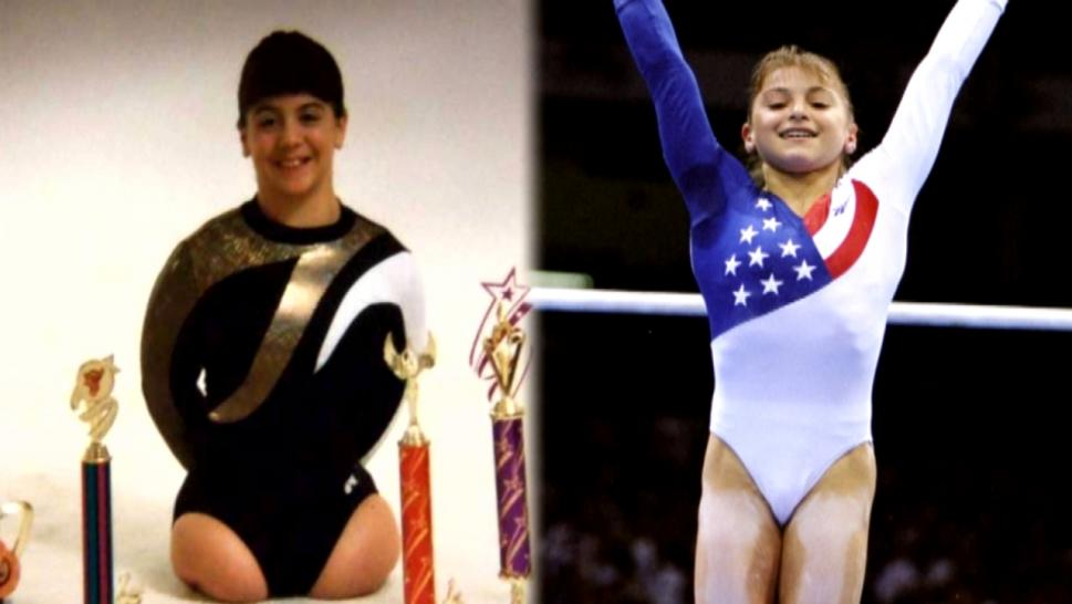 Adopted Aerialist Without Legs Is Olympian's Little Sister