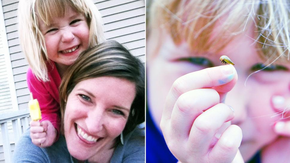 Dr. Laura Sullivan-Beckers and her daughter Sylvie discovered a new species while out gardening in their backyard three summers ago.