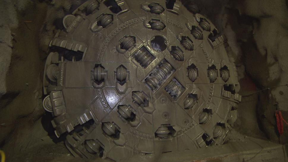Meet the Workers Inside a Giant Drill Burrowing Through Rock to Repair a Broken Tunnel
