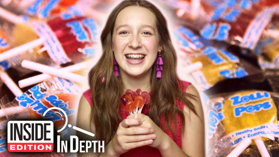 Alina Morse runs Zolli Candy, which makes treats that are actually good for your teeth.