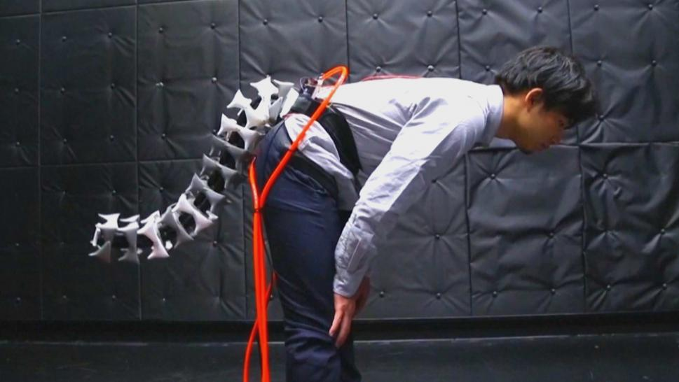 Robotic tail