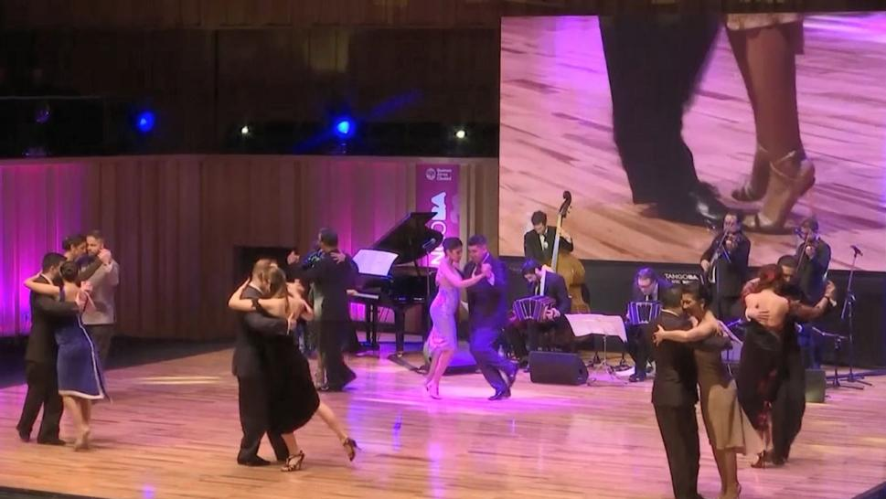 99-Year-Old Competes in World Tango Championships