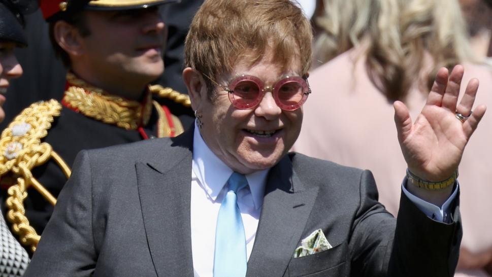Elton John is coming forward to defend the royals.