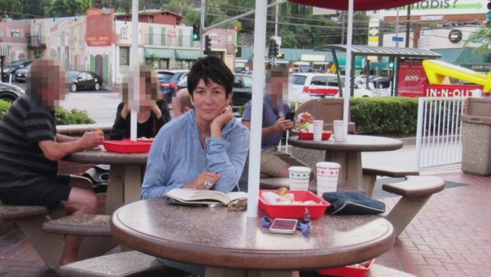 Images appearing to show Ghislaine Maxwell at an In-N-Out Burger are now being called into question.