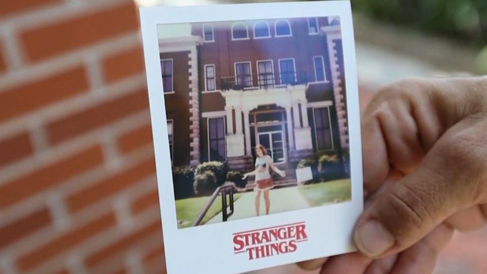 "Strangers to Georgia town flock to see ""Stranger Things"" location."