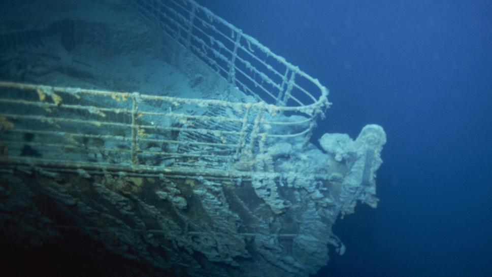 The Titanic sank on April 15, 1912.