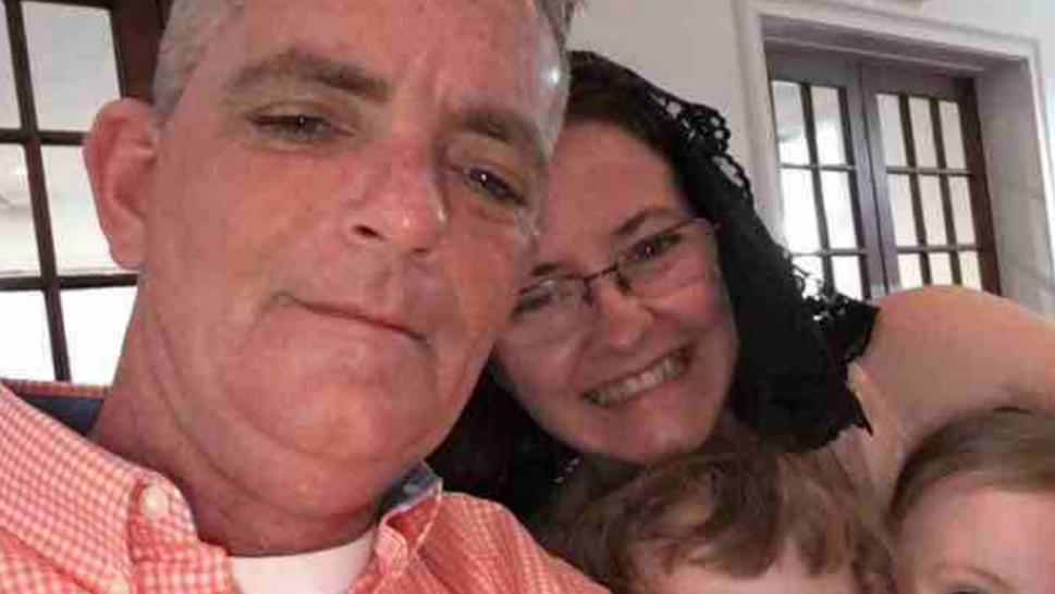 David Ireland, 50, was initially admitted to the hospital in Orlando, Florida, last week after he arrived complaining of flu-like symptoms.