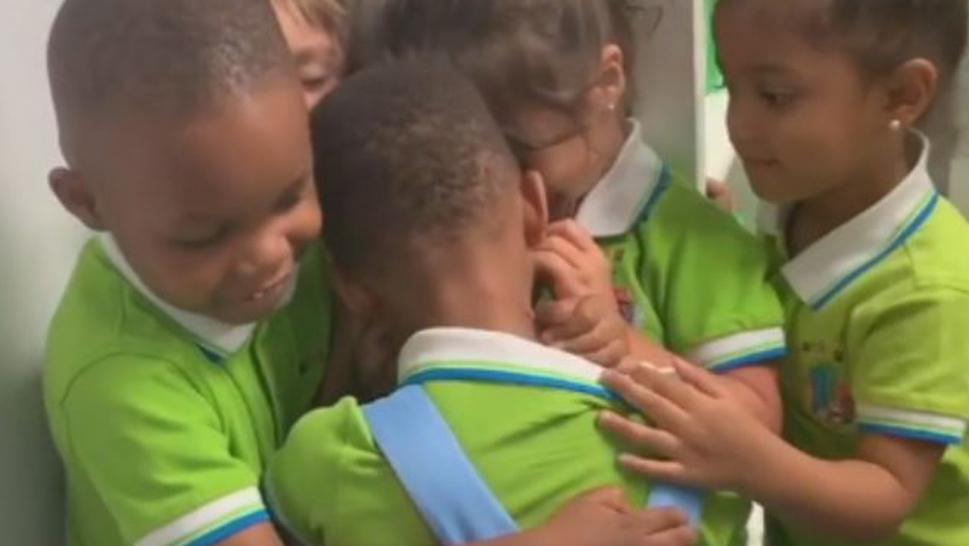 Classmates Thrilled When Buddy Who Was Trapped in the Bahamas Thanks to Hurricane Returns to School
