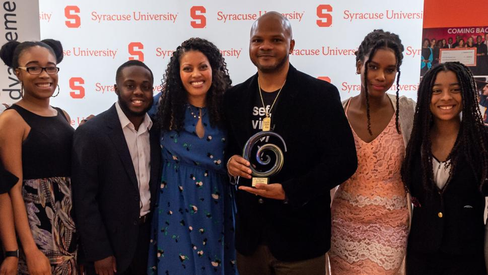 Kevin Richardson of Exonerated 5 Honored with Syracuse University Scholarship
