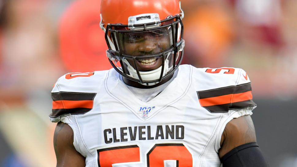 The Browns organization has expressed its support for Smith, saying he's excused from team activities should he need it to grieve.